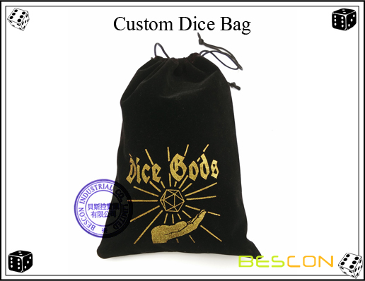 Custom Dice Bag