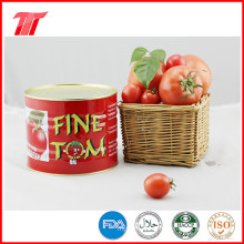 Pasta de Tomate Orgánica Fina Tom 400g con Alta Calidad