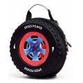 New design fashionable travel eva hard shell tire kids school bag backpack