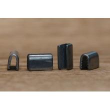 Engaste de metal al por mayor para el cinturón / cordón de metal final para cordones / cordones de metal