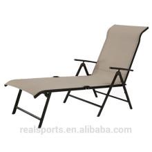2017 Pool Chair Luxury Lounge Muebles para exteriores Pool Chair Tela Chaise Lounge Chair Outdoor