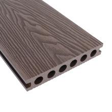 Eco Friendly Recycle Outdoor WPC Wood Plastic Composite Waterproof 3D Embossed Decking Board