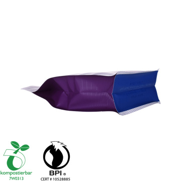 Proveedor de bolsas biodegradables Ziplock Flat Bottom Pla en China