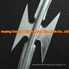 Sharp Razor Wire / Barbed Razor Wire /Galvanized Razor Wire / PVC coated razor wire / barbed wire ---- 30 years factory
