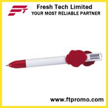 Bolígrafo promocional barato caliente con la insignia
