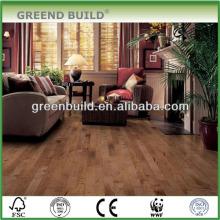 Suelo de madera de ingeniería de arce liso interior