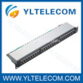 1U 19 Zoll 24port(3*8) abgeschirmt Patch Panel Cat.5e und Cat. 6 Typ