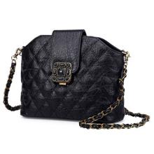 High Quality Diamond-Shaped Handbag Ladies PU Bag Fashion Handbag (ZX10180)