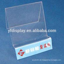 Tabletop Clear Acryl Handy-Display-Ständer