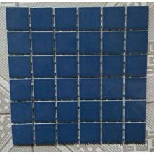 Mosaico de cerámica azul para la piscina