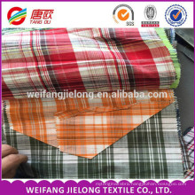 woven 100 % cotton fabric for t-shirt, yarn dyed cotton fabric 100% cotton yarn dyed fabric for t shirt use