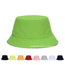 Moda verão ao ar livre lona viajando pescador balde chapéu