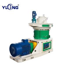 Máquina de processamento de pelotas de lodo
