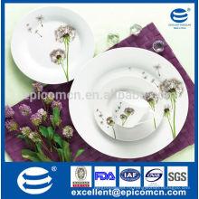 Дешевая столовая посуда из керамики одуванчика из фарфора