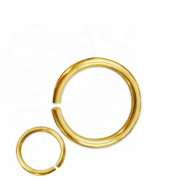 copper alloy supplier Solid Brass Welded Round Ring