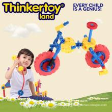 Пластиковые соединительные игрушки, мини-велосипедные садовые игрушки