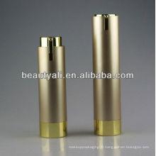 plastic acrylic cosmetic cream bottle