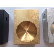 Alta calidad CNC mecanizado de piezas con caída final y grabado