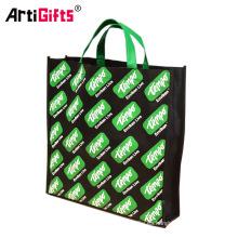 El fabricante no tejido promocional de los bolsos de compras, barato aduana recicla el bolso no tejido plegable de los PP