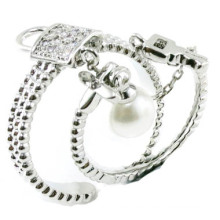 Newest Fashion & Good Quality 925 Sterling Silver Jewelry Ring (R10425)