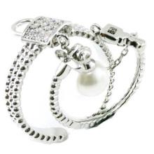 Самое новое кольцо ювелирных изделий стерлингового серебра способа & хорошего качества 925 (R10425)