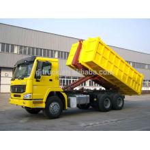 Camion à ordures auto-dumping