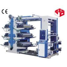 Máquina de impresión flexográfica de la serie de Yt 6 Color