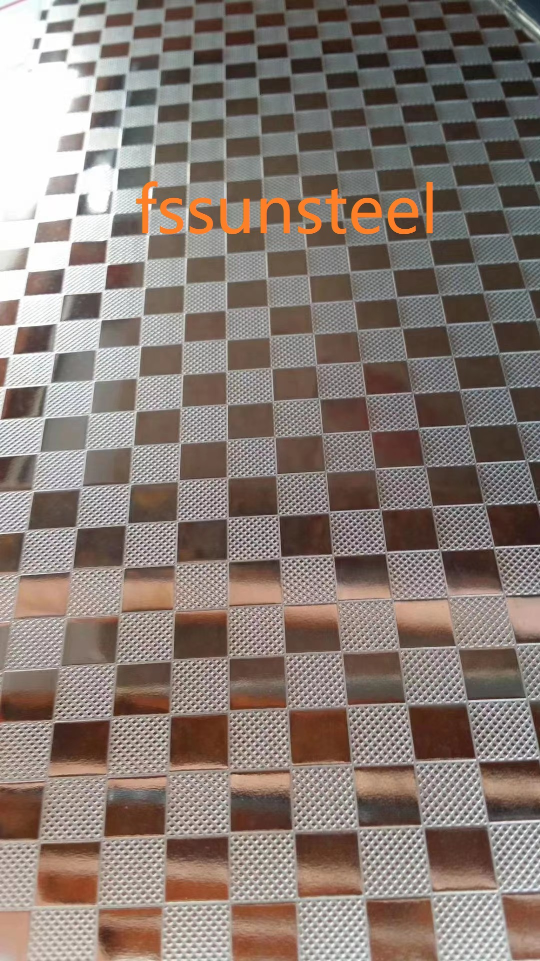 201 Stainless Steel Embossed Sheets