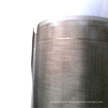 Tela cruzada del acoplamiento de la malla de la pantalla de la industria de la guerra de la tela cruzada de la armadura de sarga