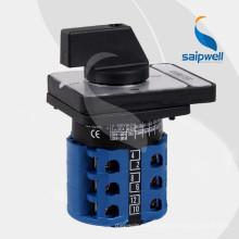Les interrupteurs à effet rémanent de la série Saip / Saipwell LW 26 2014 s'appliquent aux circuits 440V AC 50HZ ou 240V situés sous les circuits CC (LW26-20 AMMETER)
