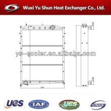 Автозапчасти интеркулер / авто бак радиатор / водяное охлаждение теплообменник производитель