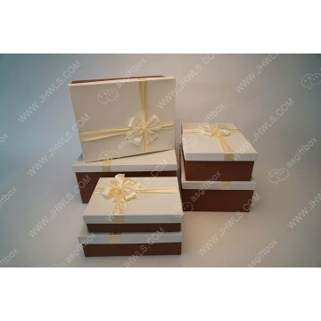 Highlight value Custom Golden clothing zapato box