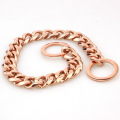 Factory Drop Shipping 15mm Stainless Dog Choker Dog Chains Gold Dog Collar Pet Supplies For Pet Training