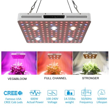 Cob Led Grow Light para sembrar flores