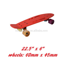 """22""""*6"""" fish shape skateboards with pp decks and pu wheels for sale"""