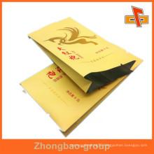 Printable Lamination Kraft Paper AL Inside Packaging , Aluminium Foil Paper Bag