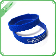 High Quality 2016 Popular Colorful Silicon Bracelet for Event
