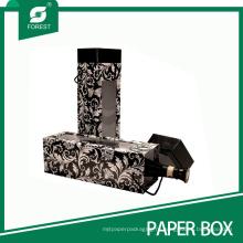 Роскошные твердые коробки подарка вина картона с окном