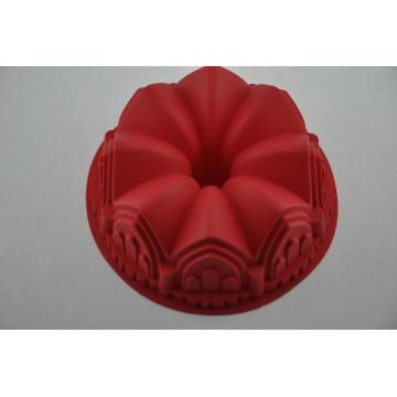 Silikon Kilang Istana Crown Design Cake Baking Tools