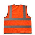 Colete reflexivo de segurança para segurança rodoviária personalizável