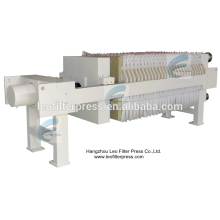 Leo Filter Press Food Industry Filtration Membrane Filter Press