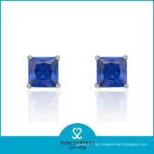 2014 Bester verkaufender Art- und Weiseblauer Ohrring
