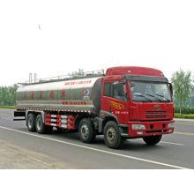 Jiefang 8x4 milk vehicle,fresh milk heat transport vehicle