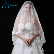 Tela de alta calidad Graceful Perfect Tulle Cathedral Wedding Veils