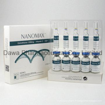 Antioxydant Dermatologie Blanchiment Glutathion Injection
