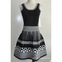 100%Polyester Ladies Sleeveless Sweater Dress