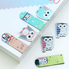 Wholesale Creative Craft Paper Bookmark with Magnet/Super Cute Cartoon Book Marks
