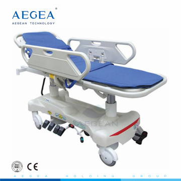 AG-HS010 convenient rescue electric 5 positions patient transport examination medical stretcher for sale medical stretcher for sale
