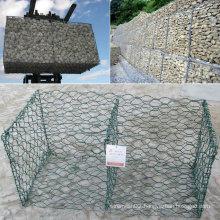 PVC Coated Gabion Wire Mesh