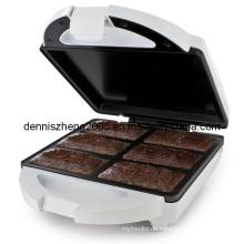 Elektrische Browine Maker Brownie Maker Dessert Cup Maker Stick Waffeleisen Hot-Dog-Maker weiche Brezel Maker
